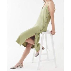 URBAN OUTFITTERS MONICA SIDE BUTTON DRESS